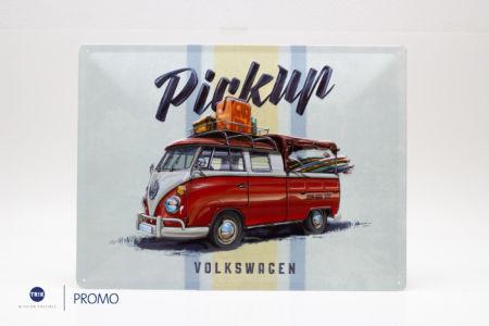 9847 Blechschild Volkswagen-Zubehör 02