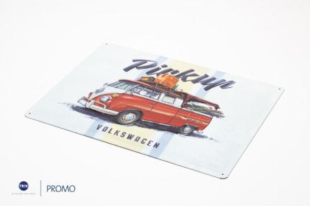 9847 Blechschild Volkswagen-Zubehör 04