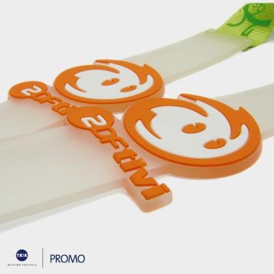 Lanyard mit Soft-PVC